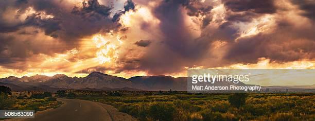 Sky Explosion Panoramic Version