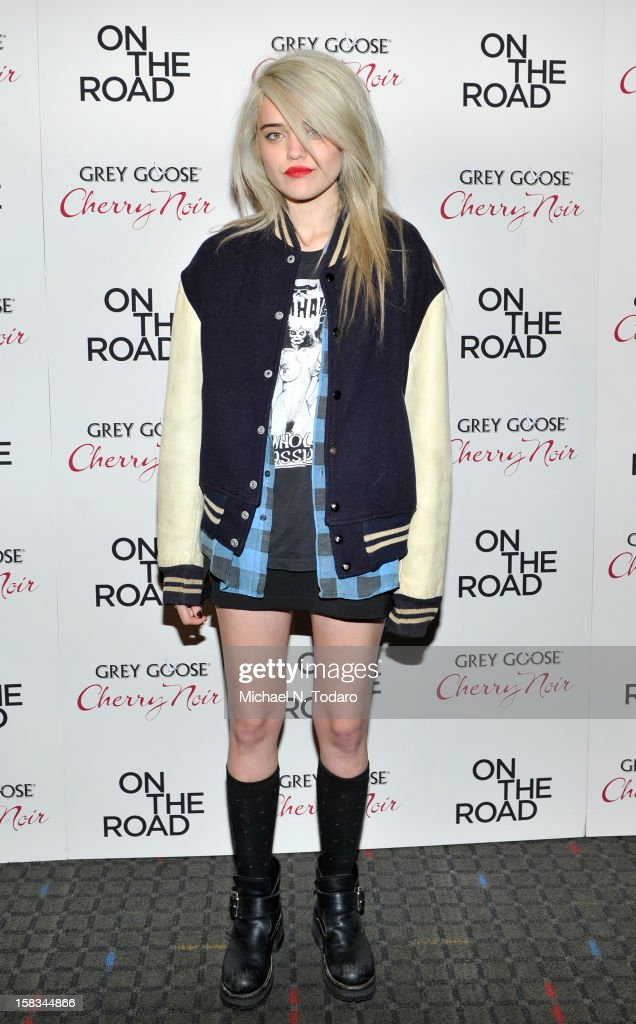 Sky Ferreira attends the 'On The Road' premiere at SVA Theater on December 13, 2012 in New York City.