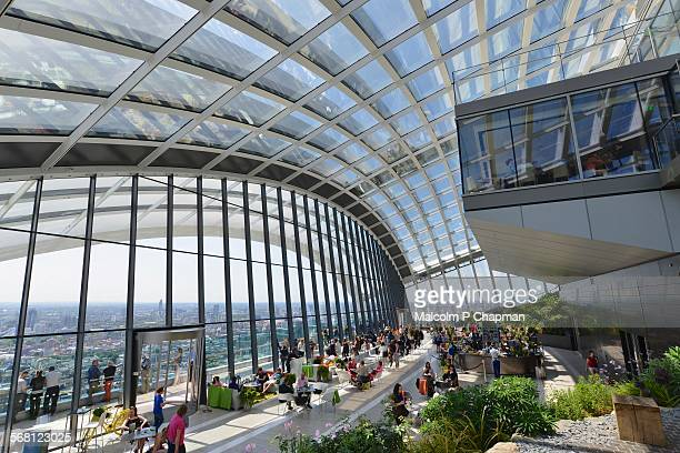Sky Garden at 20 Fenchurch Street, London, UK