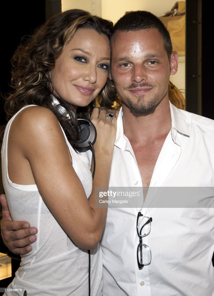 Sky Nellor and Justin Chambers of 'Grey's Anatomy'