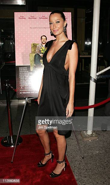 Sky Nellor arrives at 'Lars and the Real Girl' premiere at the Paris Theater on October 3 2007 in New York City