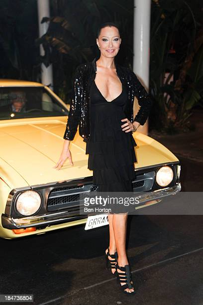 Sky Nellor attends Ford Motor Company and Decades LA Explore Five Decades of the Mustang Music and Iconic Fashion at The Standard Hotel on October 15...