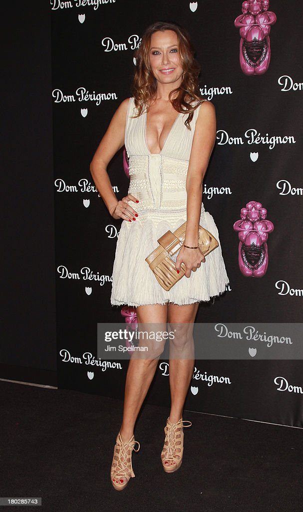 Sky Nellor attends the Dom Perignon Limited Edition Jeff Koons Bottle Launch at 711 Greenwich Street on September 10, 2013 in New York City.