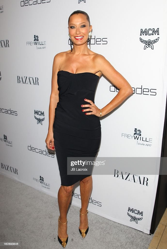 Sky Nellor attends the Dukes Of Melrose launch hosted by Decades and Harper's BAZAAR at The Terrace at Sunset Tower on February 28, 2013 in West Hollywood, California.