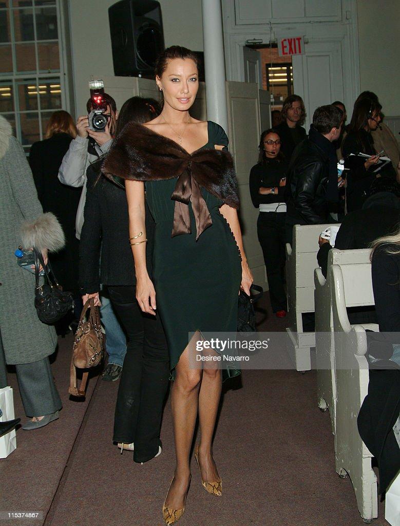 Olympus Fashion Week Fall 2005 - Alice Roi - Front Row