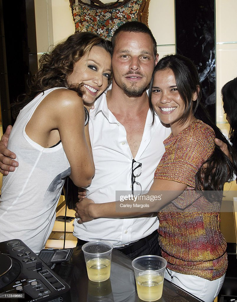 Sky Nellor Justin Chambers of 'Grey's Anatomy' and Dayla DeAsis
