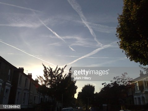 Sky over Ealing, London