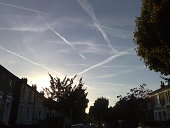 Sky over Ealing, London