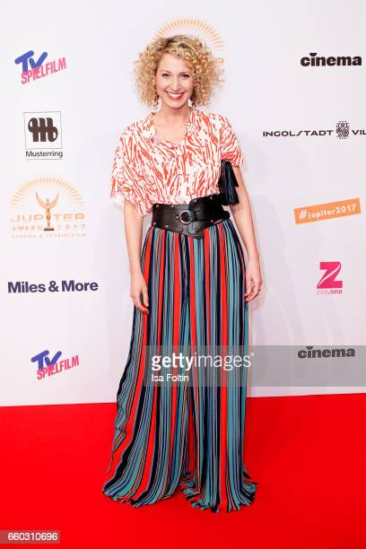 Sky presenter Aline von Drateln attends the Jupiter Award at Cafe Moskau on March 29 2017 in Berlin Germany