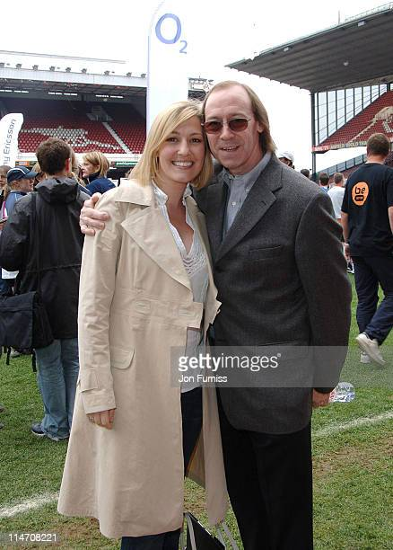 Sky Sports presenter and daughter of Kenny Kelly Dalglish with exArsenal and England legend Charlie George Kelly was hosting the FHM O2 Cup Final at...