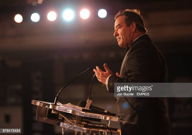 Sky Sports presenter Jeff Stelling at the PFA Player of the Year Awards 2010 at the Grosvenor House Hotel London