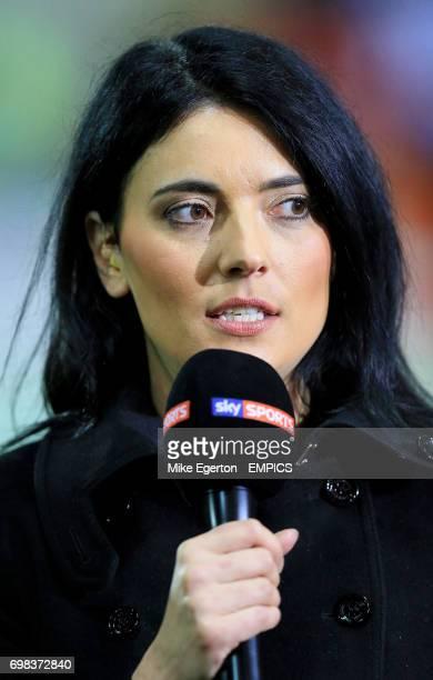 Sky Sports presenter Natalie Sawyer