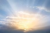 Sky. Sunrise.