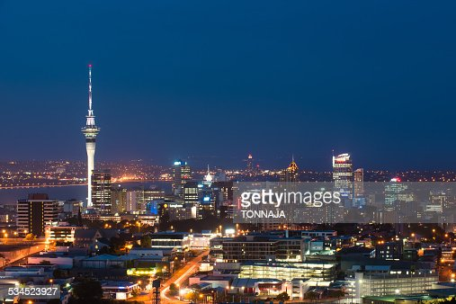 Sky tower of Auckland