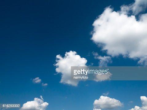 Cielo con cloud  : Foto de stock