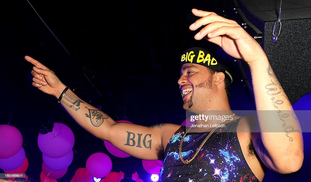 SkyBlu performs at the SkyBlu 'Pop Bottles' Single Release Party at Lure on January 31, 2013 in Hollywood, California.