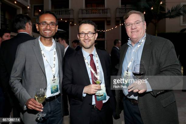 SkyCool cofounder and CEO Aaswath Raman guest and Earth Friendly Products Brad Harrison attend the EMA IMPACT Summit hosted by the Environmental...