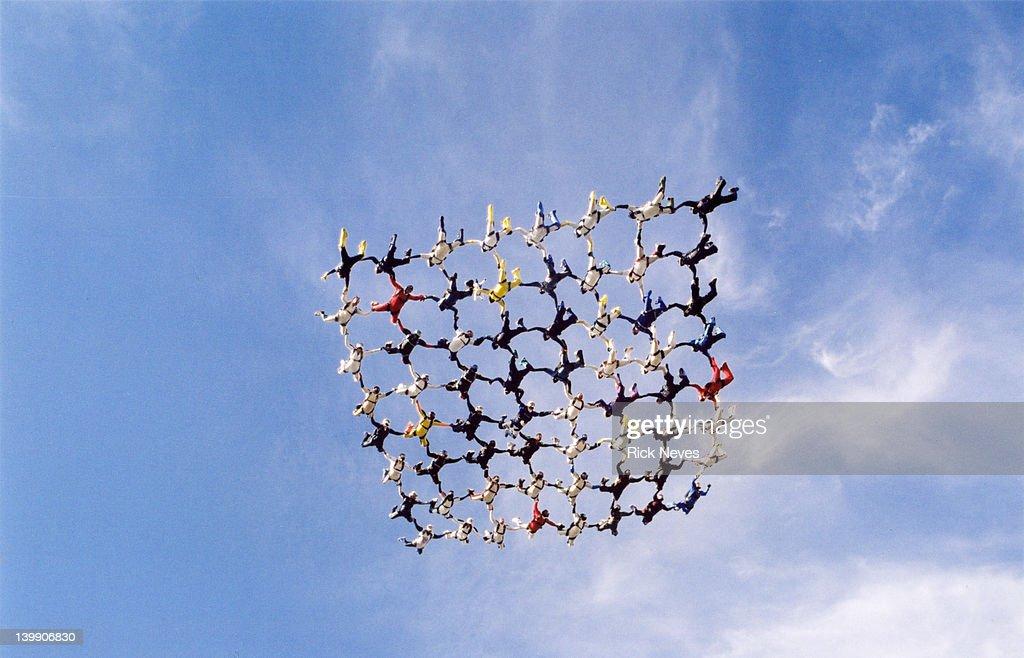 Skydive Diamond 64 : Stock Photo