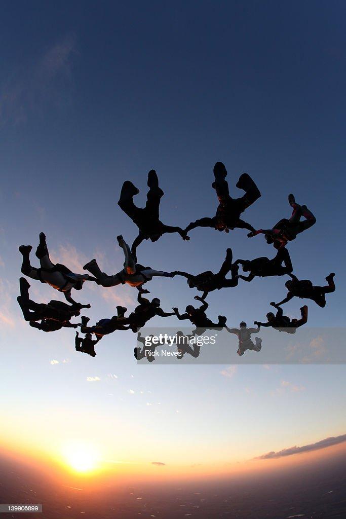 Skydive : Stock Photo