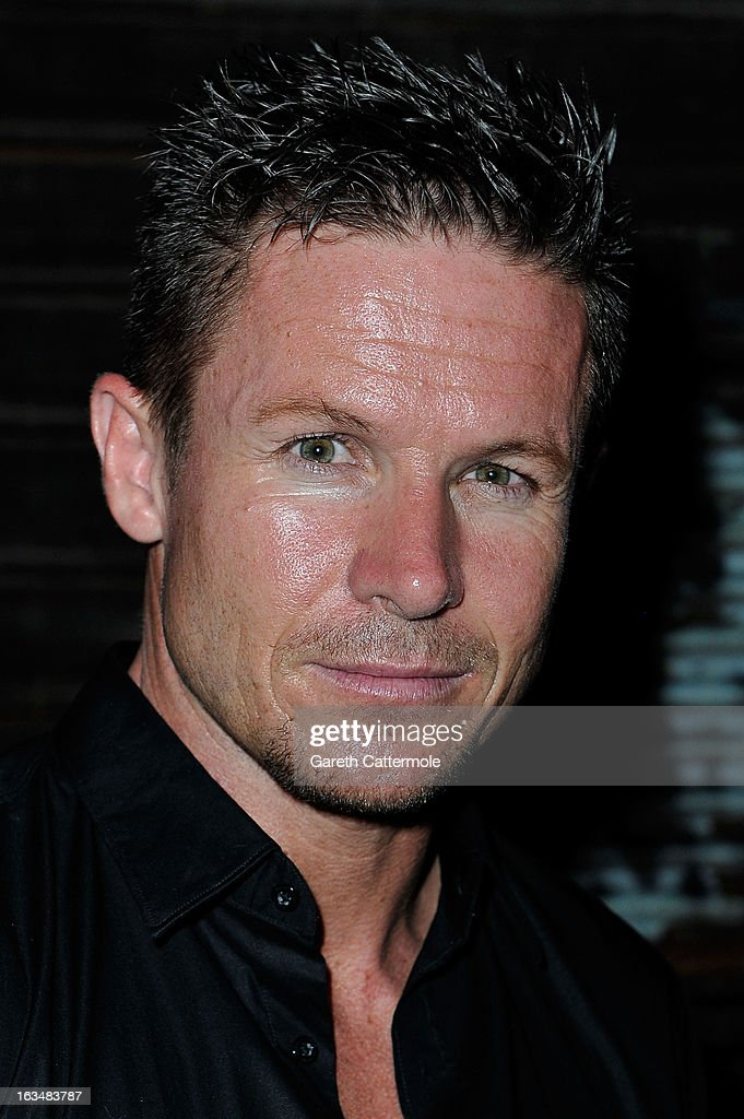 Skydiver Felix Baumgartner attends the Laureus Welcome Party at the Rio Scenarium during the 2013 Laureus - skydiver-felix-baumgartner-attends-the-laureus-welcome-party-at-the-picture-id163483787