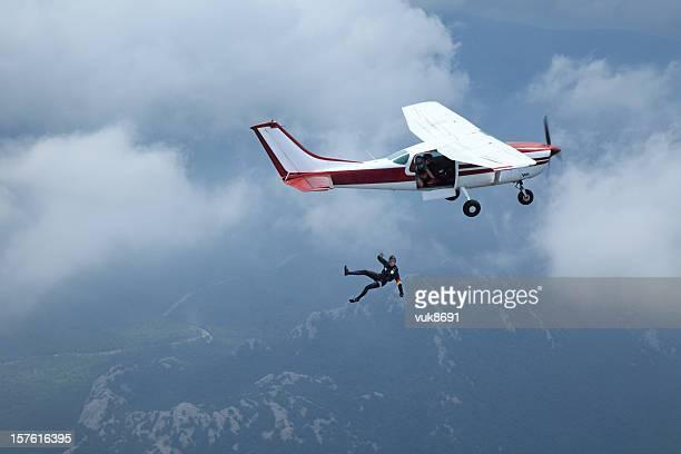 Parachutisme en chute libre