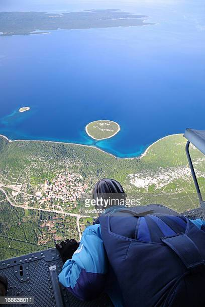 Skydiving Point of View