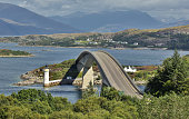 Skye Bridge at Isle of Skye - Scotland
