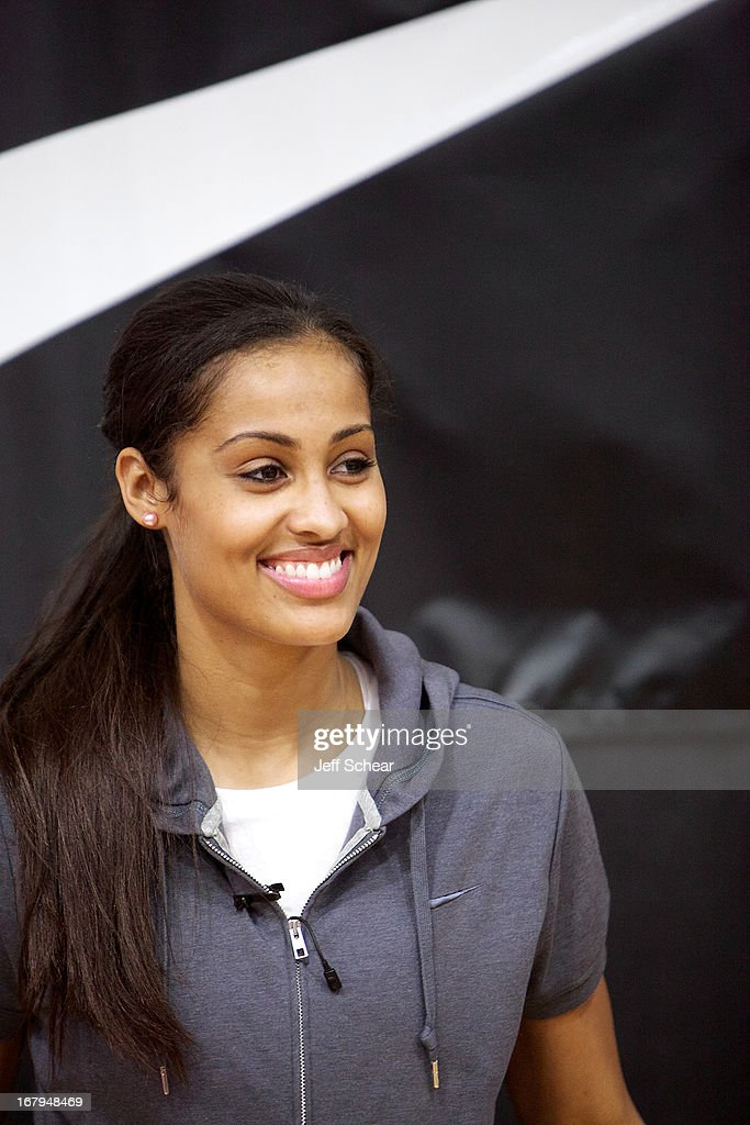 <a gi-track='captionPersonalityLinkClicked' href=/galleries/search?phrase=Skylar+Diggins&family=editorial&specificpeople=5791961 ng-click='$event.stopPropagation()'>Skylar Diggins</a> attends 'The Martin Luther King Center offers congratulations to <a gi-track='captionPersonalityLinkClicked' href=/galleries/search?phrase=Skylar+Diggins&family=editorial&specificpeople=5791961 ng-click='$event.stopPropagation()'>Skylar Diggins</a> as she heads to Oklahoma Tulsa Shock' at Martin Luther King Center Gymnasium on May 2, 2013 in South Bend, Indiana.