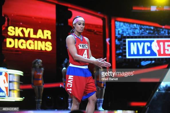 Tulsa Shock's Skylar Diggins in All-Star Celebrity Game - AXS