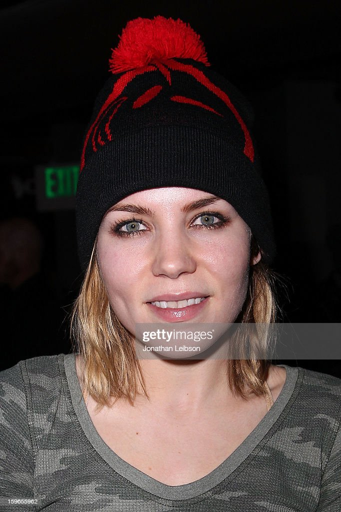Skylar Grey at the Lil Jon Birthday Party at Downstairs Bar on January 17, 2013 in Park City, Utah.