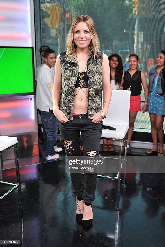 Skylar Grey attends NEW.MUSIC.LIVE. at MuchMusic Headquarters on July 16, 2013 in Toronto, Canada.