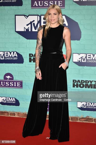 Skylar Grey attends the MTV EMAs 2017 at The SSE Arena Wembley on November 12 2017 in London England