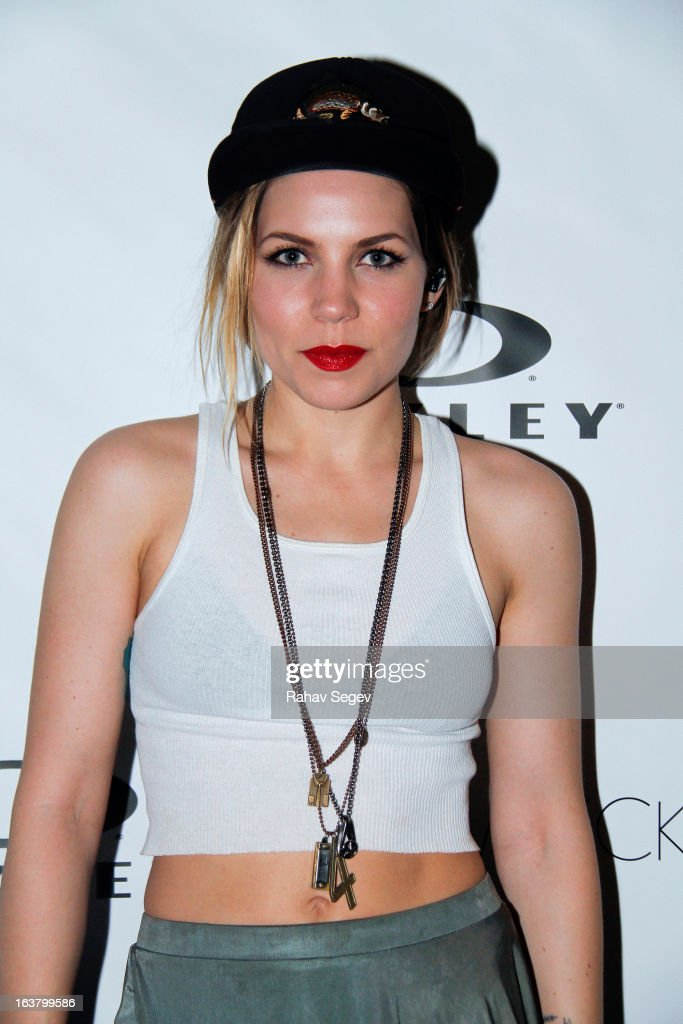Skylar Grey attends the Oakley and Wreckroom musical presentation at The W hotel on March 15, 2013 in Austin, Texas.