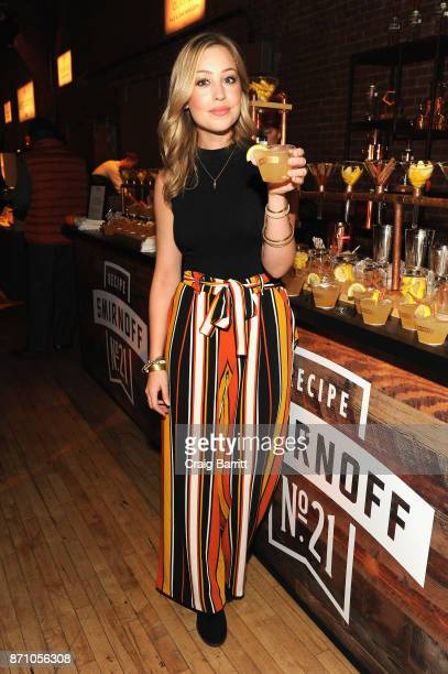 Skyler Bouchard @nycdining at Smirnoff bar at 2017 New York Taste at The Waterfront Building on November 6 2017 in New York City