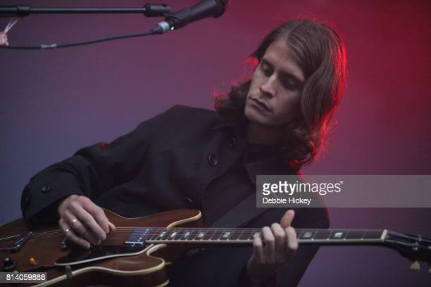 Skyler Skjelset of Fleet Foxes performing live on stage at Iveagh Gardens on July 13 2017 in Dublin Ireland