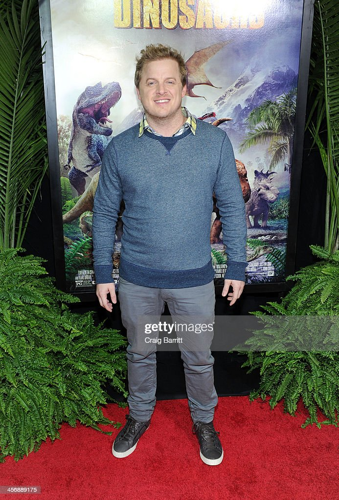 Skyler Stone attends the 'Walking With Dinosaurs' screening at Cinema 1, 2 & 3 on December 15, 2013 in New York City.