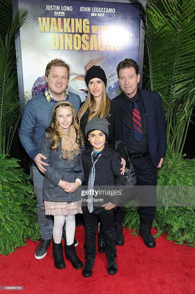 Skyler Stone (L) attends the 'Walking With Dinosaurs' screening at Cinema 1, 2 & 3 on December 15, 2013 in New York City.