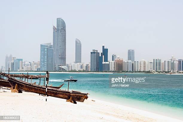 Skyline, Abu Dhabi, U.A.E.