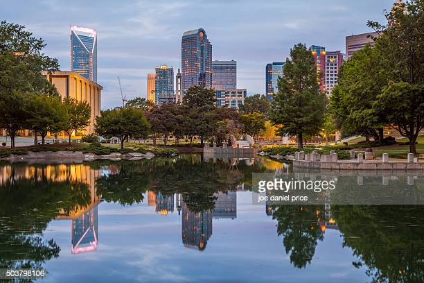 Skyline, Charlotte, North Carolina, America