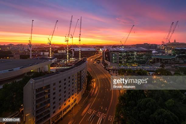 skyline downtown Sydney