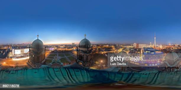 Skyline from Cathedral Dome. Berlin, Germany