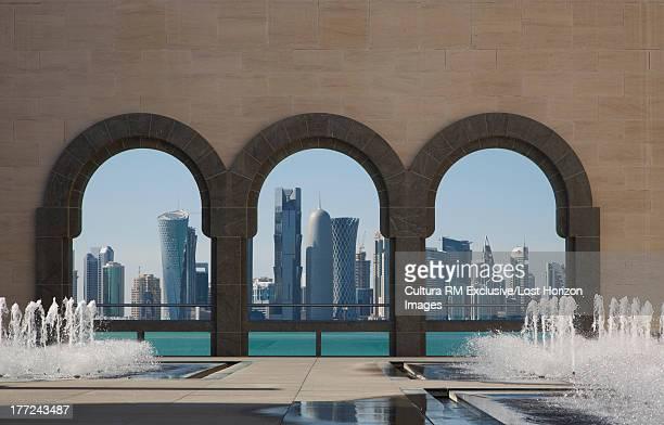 Skyline from the Museum of Islamic Art, Doha, Qatar