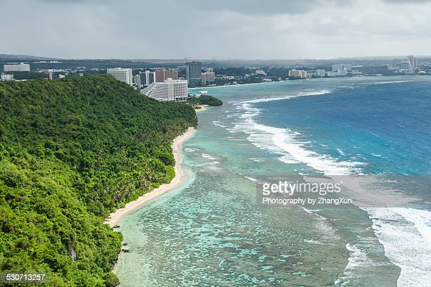 Skyline from Two Lovers Point in Guam