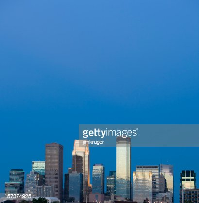 Skyline in Minneapolis, Minnesota