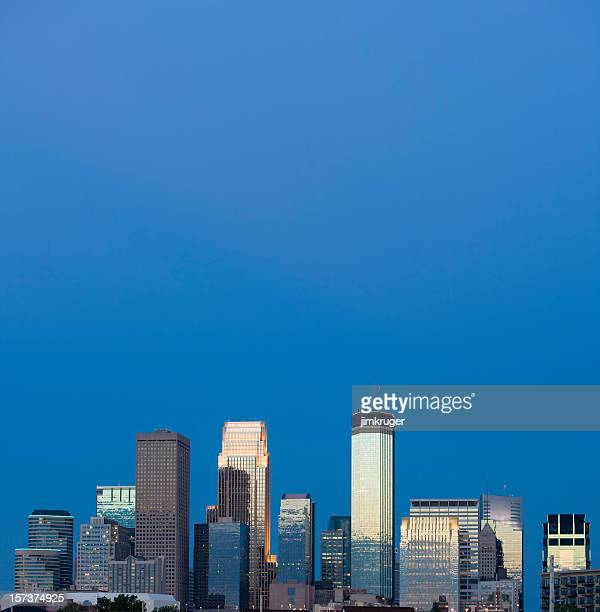 Skyline in Minneapolis, Minnesota