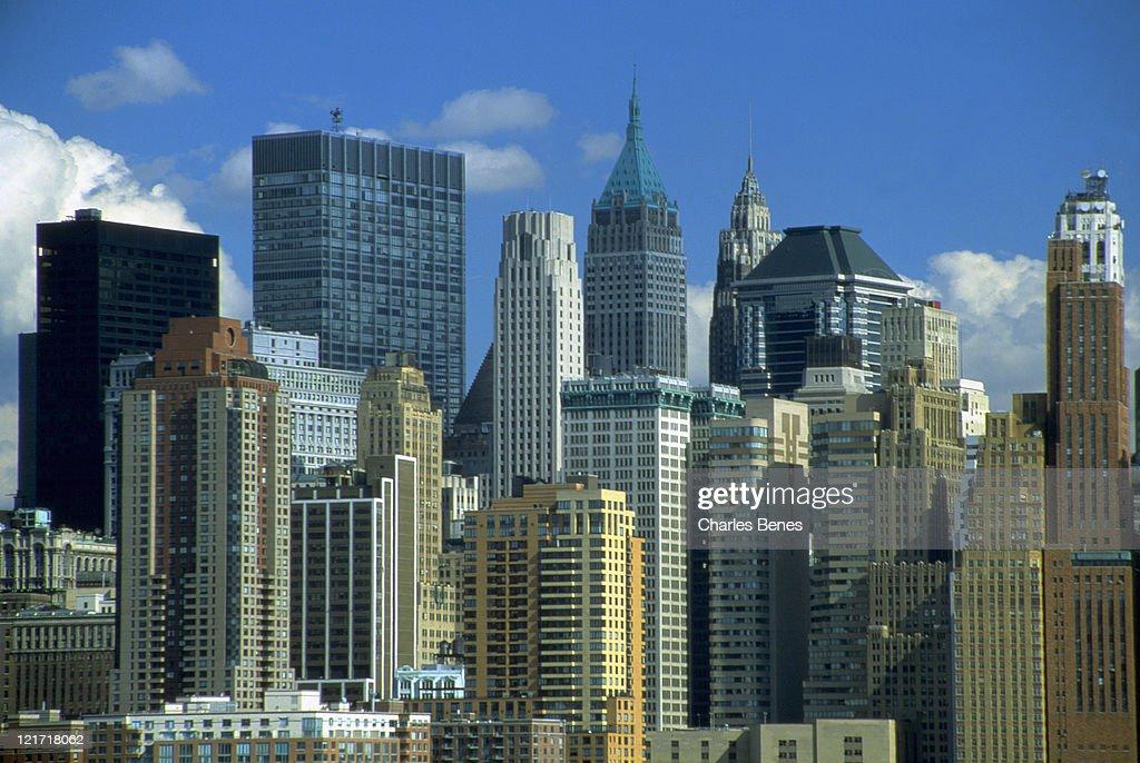 NYC skyline, NYC, NY : Stock Photo