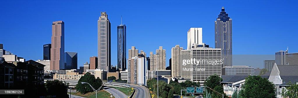 Skyline of a city