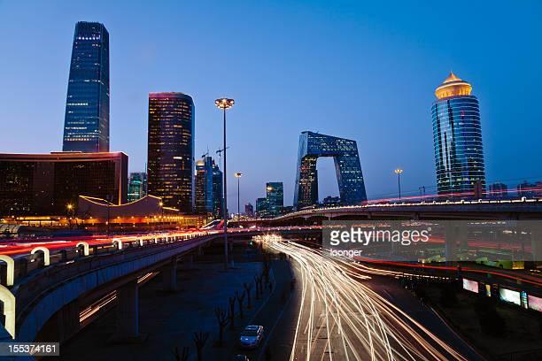 Skyline of Beijing CBD