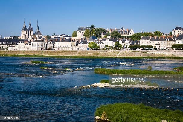 Los edificios de la catedral de Blois