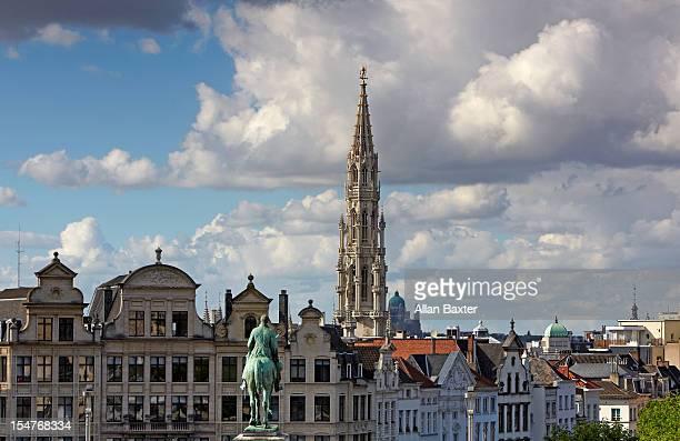 Skyline of Brussels